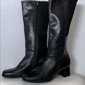 Easy spirit leather boots 👢